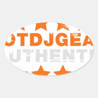 Authentic Hotdjgear Oval Sticker