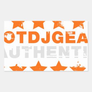 Authentic Hotdjgear Rectangular Sticker