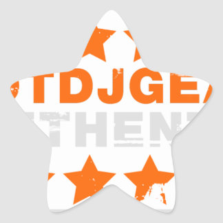 Authentic Hotdjgear Star Sticker