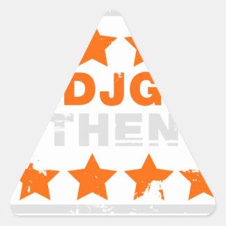 Authentic Hotdjgear Triangle Sticker