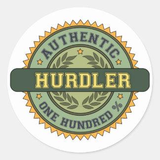 Authentic Hurdler Sticker