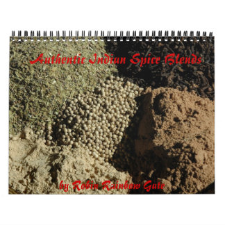 Authentic Indian Spice Blends Calendars