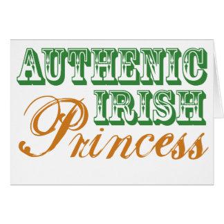 Authentic Irish Princess Card