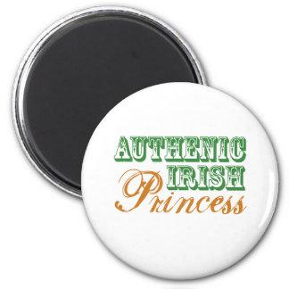 Authentic Irish Princess Fridge Magnet