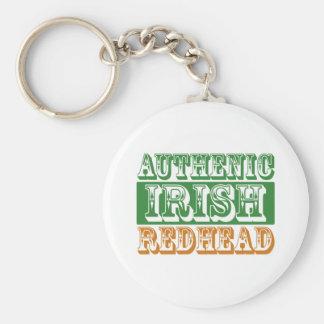 Authentic Irish Redhead Keychain