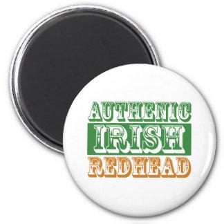Authentic Irish Redhead Magnet