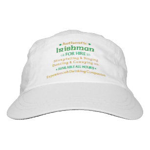 a3962f541c2 Authentic Irishman For Hire Funny Headsweats Hat