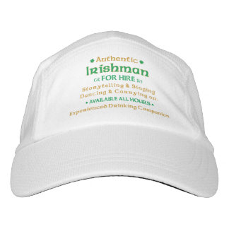 Authentic Irishman For Hire Headsweats Hat