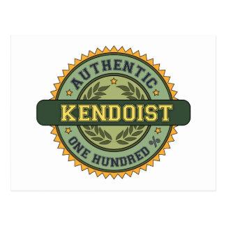Authentic Kendoist Postcard