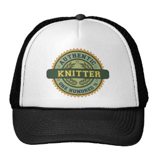 Authentic Knitter Trucker Hat