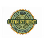 Authentic Latin Student Post Card