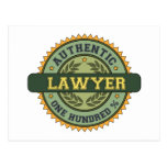 Authentic Lawyer Postcards