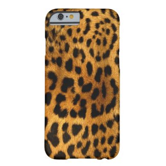Authentic Leopard Fur Texture Barely There iPhone 6 Case
