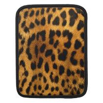 Authentic Leopard Fur Texture iPad 2 Sleeve