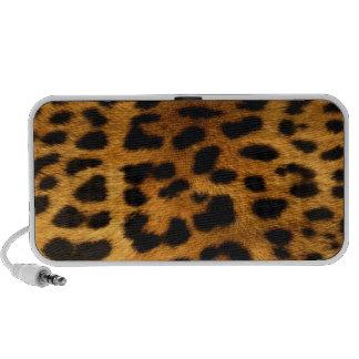 Authentic Leopard Fur Texture Mp3 Speakers