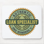 Authentic Loan Specialist Mouse Mat