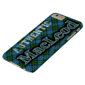 Authentic MacLeod Scottish Tartan Design Case