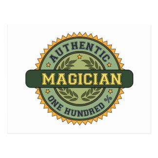 Authentic Magician Postcards