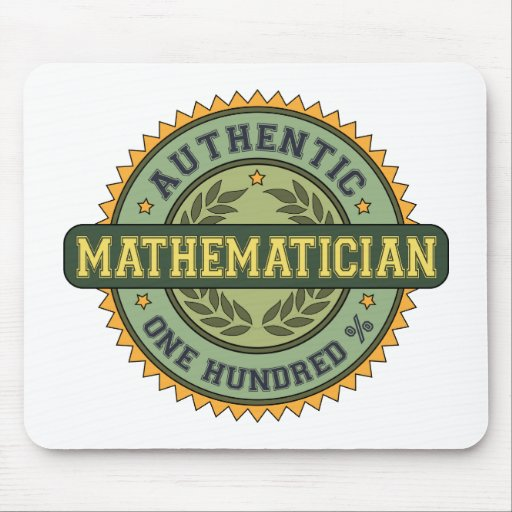 Authentic Mathematician Mouse Pad