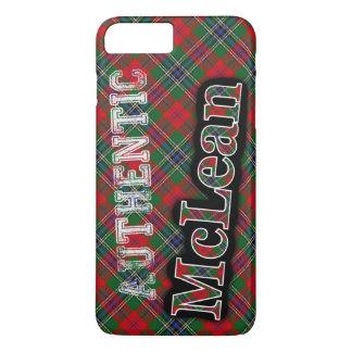 Authentic McLean Scottish Tartan Design Case