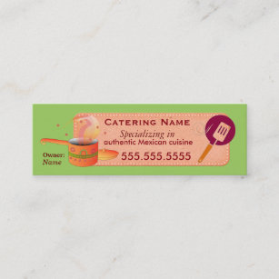 Mexican catering business cards templates zazzle authentic mexican cuisine catering business card reheart Gallery