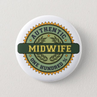 Authentic Midwife Button