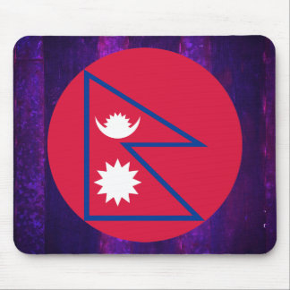 Authentic Nepalese Flag Mouse Pad