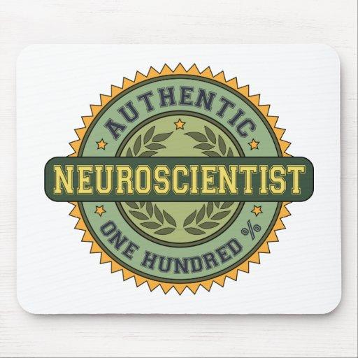 Authentic Neuroscientist Mouse Pads