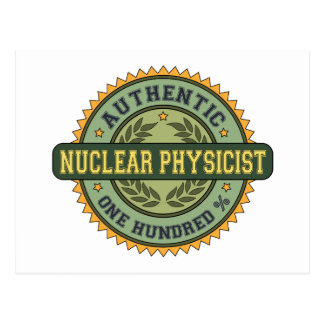 Authentic Nuclear Physicist Postcards