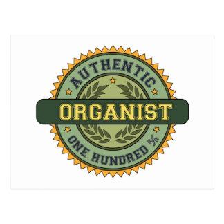 Authentic Organist Postcards
