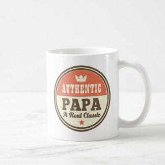 Authentic Papa A Real Classic Classic White Coffee Mug
