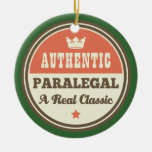 Authentic Paralegal A Real Classic Christmas Ornaments