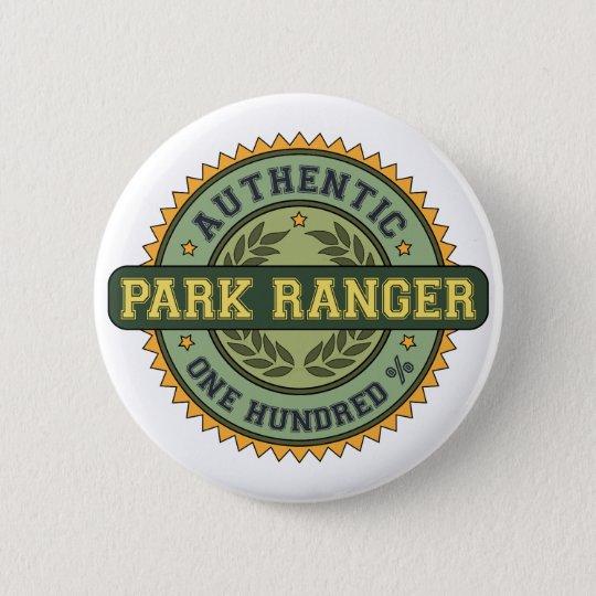 Authentic Park Ranger Button