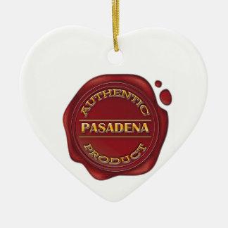 Authentic Pasadena Product Ceramic Ornament