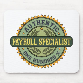 Authentic Payroll Specialist Mouse Pad