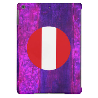 Authentic Peruvian Flag Cover For iPad Air