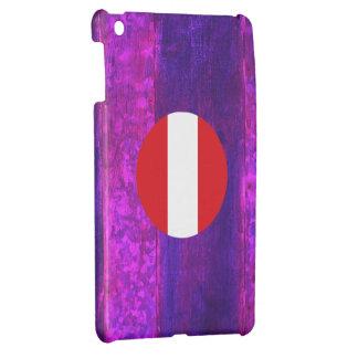 Authentic Peruvian Flag Case For The iPad Mini