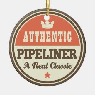 Authentic Pipeliner Vintage Gift Idea Ceramic Ornament