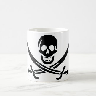 Authentic Pirate Flag of Jack Rackam Coffee Mug