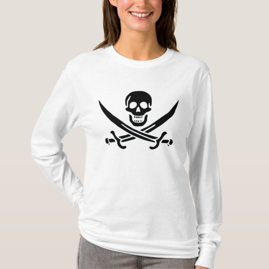 Authentic Pirate Flag of Jack Rackam T-Shirt