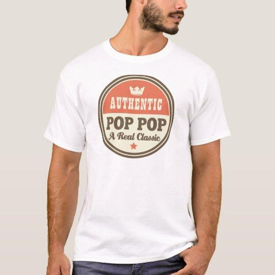 Authentic Pop Pop A Real Classic T-Shirt