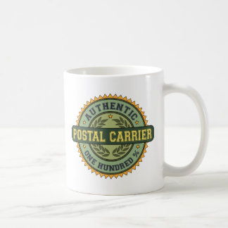 Authentic Postal Carrier Classic White Coffee Mug