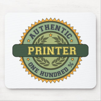 Authentic Printer Mouse Pad