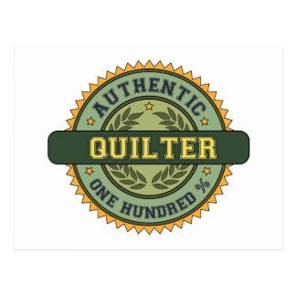 Authentic Quilter Postcard