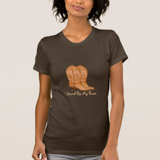 Authentic Ranch-hand Wrangler Cowgirl Boots Design T-Shirt