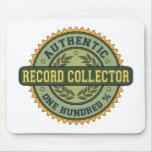 Authentic Record Collector Mouse Pad