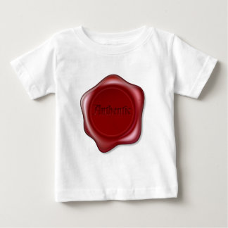 Authentic red wax seal illustration tee shirt