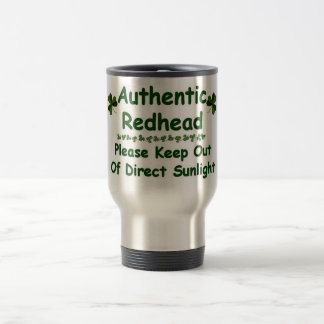 Authentic Redhead 15 Oz Stainless Steel Travel Mug
