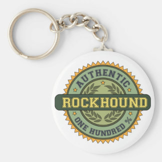 Authentic Rockhound Keychain