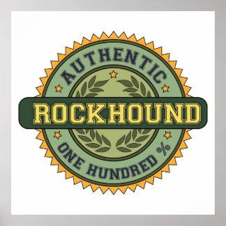 Authentic Rockhound Poster
